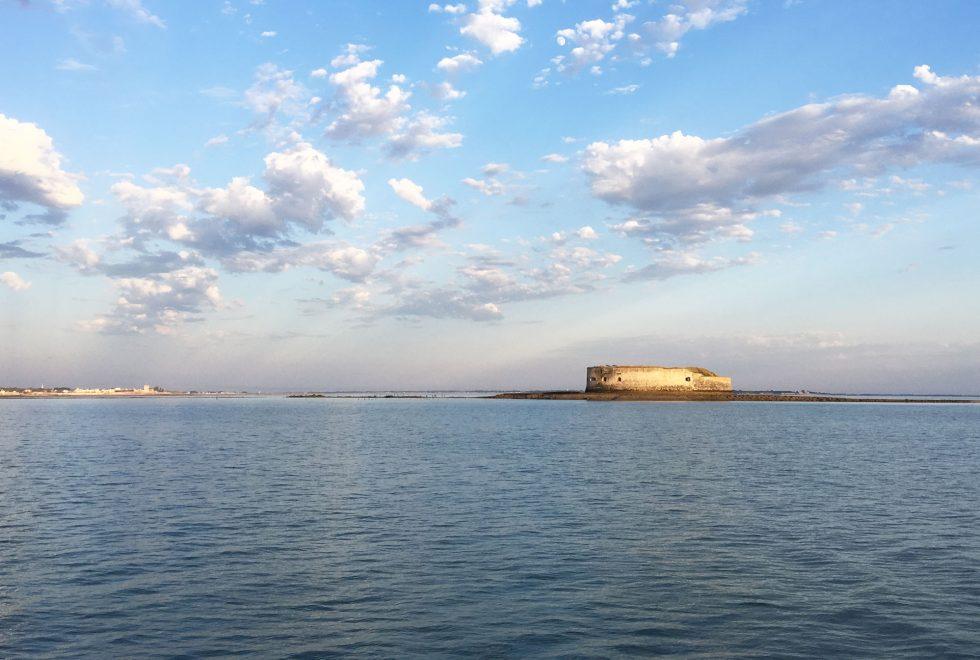 Face à la mer fort Boyard