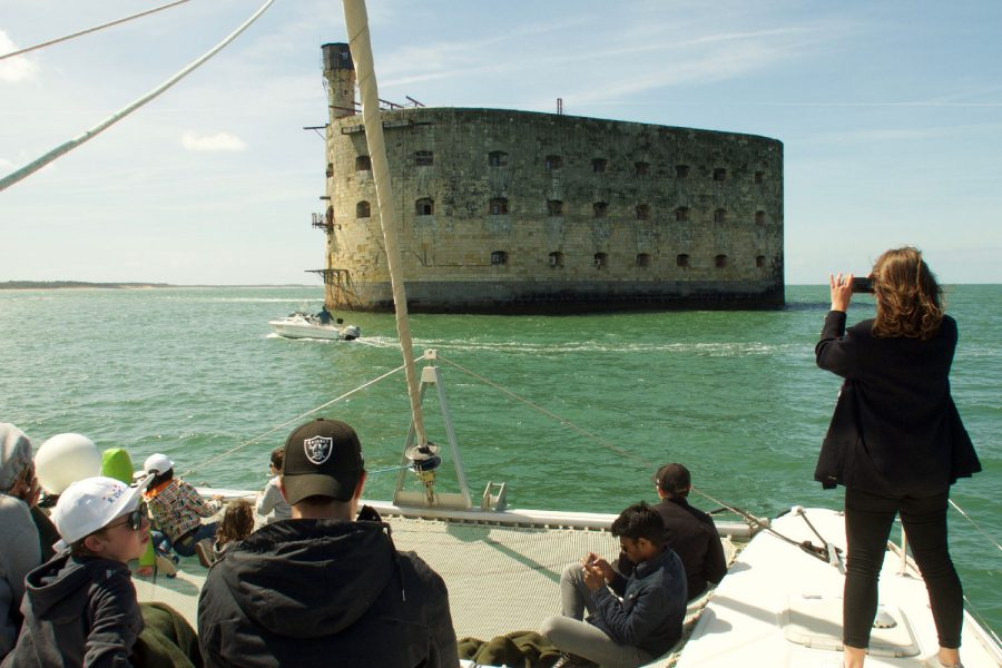 Excursion à Fort Boyard